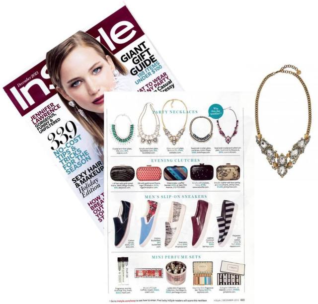 InStyle Must-Have Necklace - Zora Crystal Necklace