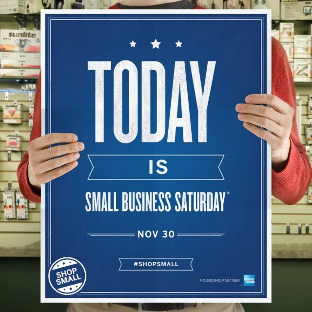 Small Business Saturday 2013 Sign