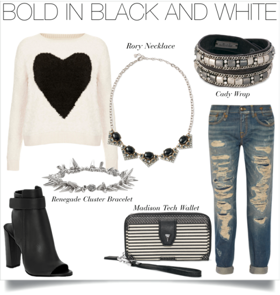 Bold in Black and White