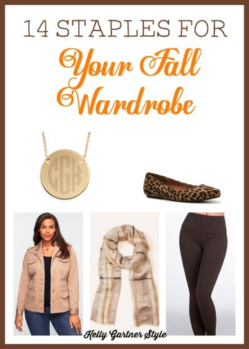 14 Staples for Your Fall Wardrobe