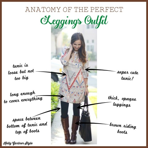 Anatomy of the Perfect Leggings Outfit