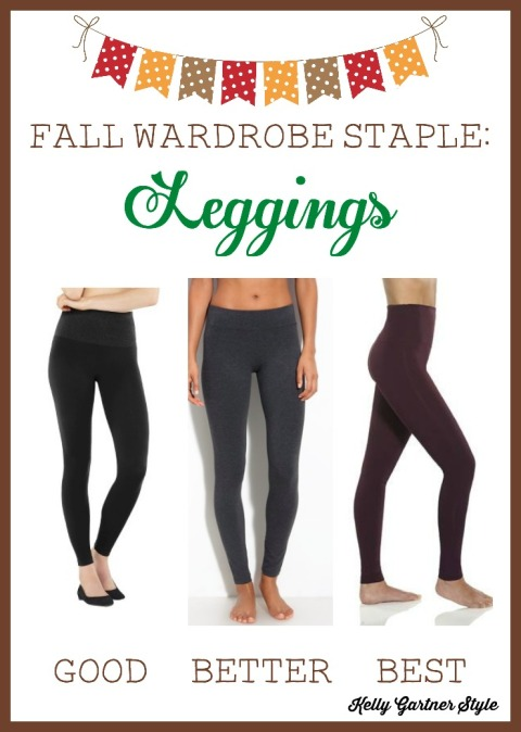 Fall Wardrobe Staple Leggings