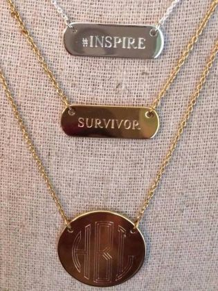 Survivor Monogram trio