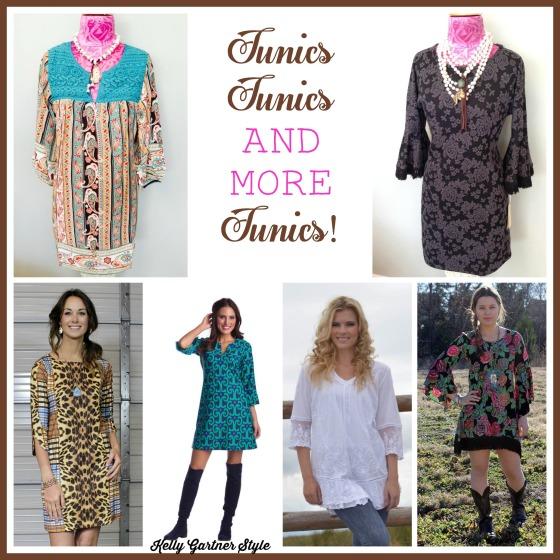 Tunics Tunics and more Tunics